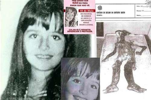 A garotinha da foto foi espancada, estuprada, drogada e morta numa orgia de drogas e sexo