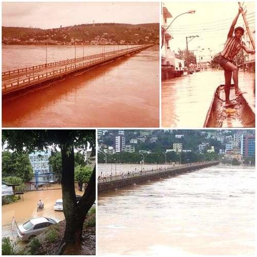 Relembre por fotos a enchente em Colatina em 1979