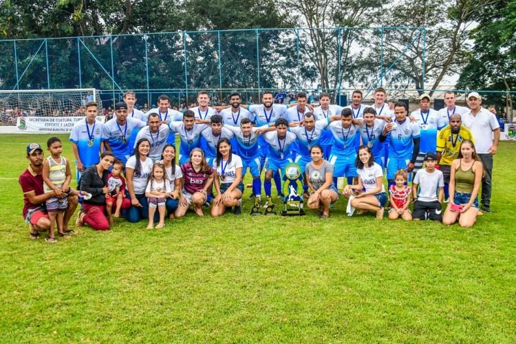 Dr. Jones e Japira vencem Campeonato de Futebol do Interior de Linhares