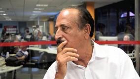 Nozinho Correa é levado para o Hospital Sírio Libanês, em SP, para exames de rotina