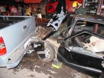 Uno se envolve em acidente na Ponte do Interlagos e três são levados para o HGL; vídeo