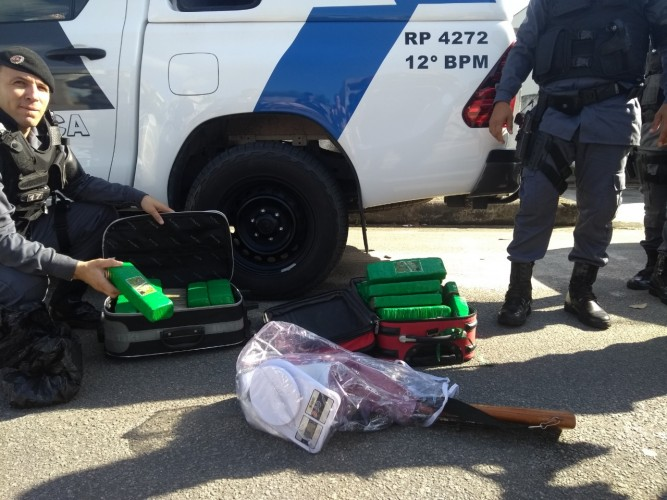 Operação do MP e PM apreende 25 quilos de maconha no Interlagos